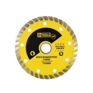 "Disco de Corte Diamantado Turbo 110 x 20mm 4.3/8"" TH5668"