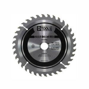 Disco de Serra Circular Vídea 110 x 20mm 4.3/8'' 24 Dentes Dtools TH5187
