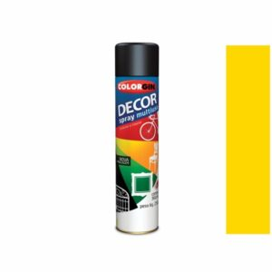 Tinta Spray Decor Multiuso Amarelo 360ml Colorgin 8591