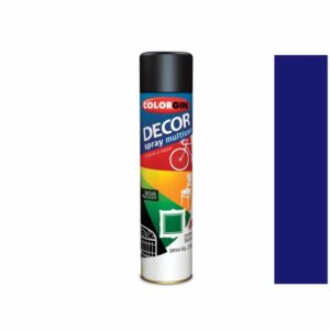 Tinta Spray Decor Multiuso Azul Colonial 360ml Colorgin 8611
