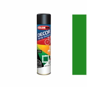 Tinta Spray Decor Multiuso Verde 360ml Colorgin 8731