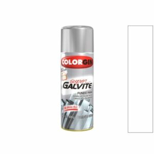 Tinta Spray Super Galvite Branco Gelo 350ml Colorgin
