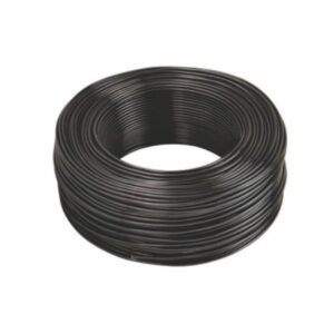 Cabo Flexível 4mm x 100m Preto Sil